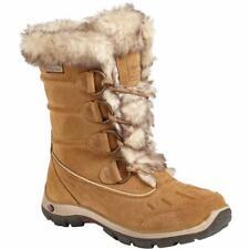 Karrimor Para Mujeres Botas De Esquí Impermeable Nieve Cordova Botas De Gamuza Bronceado Talla 3-9