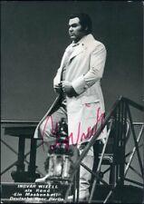 432968) Musiker-Autogrammkarte Ingvar Wixell