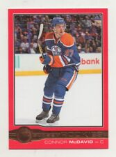 2015-16 UPPER DECK O-PEE-CHEE GLOSSY ROOKIES  - RED  - CONNOR McDAVID ROOKIE
