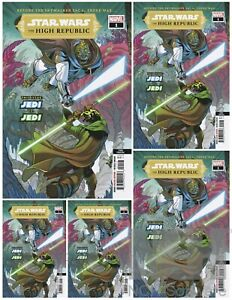 STAR WARS THE HIGH REPUBLIC #1 3rd PRINTING (2020,MARVEL) LOT OF 5 Release 2/10