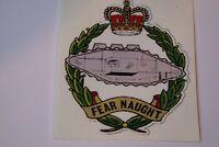 "2 X  ROYAL TANK  REGIMENT  STICKERS  4"" BRITISH ARMY  MILITARY INSIGNIA"