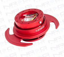 NRG GEN 3.0 Steering Wheel QUICK RELEASE KIT w/ Shift Paddle (RED)