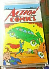 Action Comics No.1 Exclusive Loot Crate Re-Print Superman #1 Comic Book