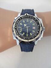 Vintage Divers Blue Eastman Super De Luxe Seawatch 10 ATM Diving Watch