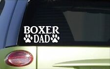 Boxer Dad *H790* 8 inch Sticker decal dog training schutzhund harness