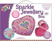 Galt SPARKLE JEWELLERY BOX Kids Art Craft Toy BN