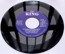 Pee Wee King Bonaparte's Retreat King 2196 '83 Reissue 45 RPM Country Strong VG+