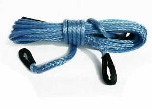 Winch Extension Tow Rope 10mm*10m*9.4T Dyneema, 4x4 off Road Recovery 4WD,