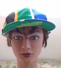 South Africa Vintage Hat 90's Snapback Cap Adjustable Hat NEW NOS Sports Flag