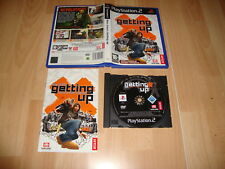 MARC ECKO'S GETTING UP CONTENTS UNDER PRESSURE PARA LA SONY PS2 USADO COMPLETO
