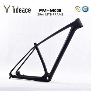 29er Full Carbon Fiber Mountain MTB Bike Frameset T800 Carbon Bicycle Frame Matt