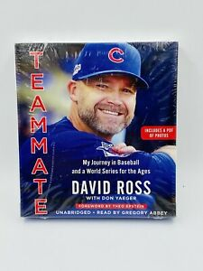 Teammate : My Journey in Baseball by David Ross with Don Yaeger Audio Book 6 CDS