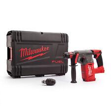 Milwaukee Akku Bohrhammer 18 Volt SDS-plus M18 CHX Sologerät ohne Akku + HD-Box