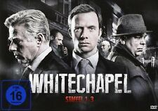 4 DVD-Box ° Whitechapel ° Staffel 1 + 2 + 3 Superbox Limited Edition ° NEU & OVP