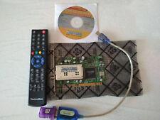 Scheda satellitare Technisat +telecomando con cd