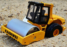 1:50 Drum Compactor Roller Construction Vehicles Diecast Model Toy for Kids Gift