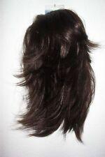 LUXUS HAARTEIL-LEA- D.BRAUN (2 In 1) Perücke Einsteckkämme Solida Bel Hair (297)