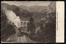 Semmeringbahn -Kalte Rinne-Lokomotive-Eisenbahn-Österreich-
