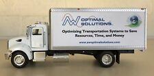 "Optimal Solutions Transportation Peterbilt Model 335 Mini Truck 8.25"" New Ray"