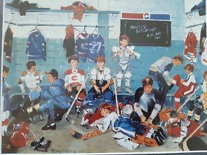 Terry Tomalty Hockey Framed Print
