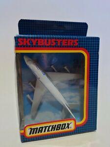 MATCHBOX SKYBUSTERS - SB-10 BOEING 747 - INC ORIGINAL BOX