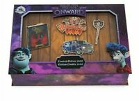 Disney Store Pixar Onward Pin Set Limited Edition Set of 4 Guinevere Quests New