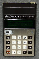 Santron 722 Taschenrechner Rechner Calculator 70er Vintage