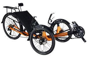 Ultimate Folding BEST Recumbent Trike Bike Bicycle 3rd Generation