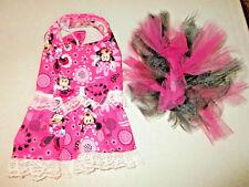 S Dog dress [minnie mouse] tutu handmade