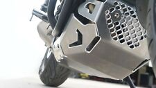 Yamaha MT-07 MT07 Tracer  2016-19  Skid Plate with Pipe Guard Silver