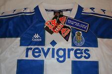 KAPPA FC PORTO NEW SHIRT 1997/98 FOOTBALL 90's JERSEY DEADSTOCK PORTUGAL SIZE L