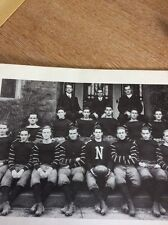 N1-5 Ephemera Ww1 Reprint Picture Newman Academy Football Team 1912