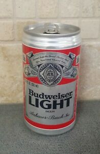 TOUGH! BUDWEISER LIGHT Beer Can ~ 11 CITIES ~ Early Version Bud Light Beer Can