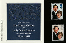 England 1981 : The Marriage of The Prince of Wales & Lady Dianna Spencer