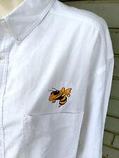 Wrangler Hero Fort Mill High School Yellowjacket Button XL Shirt South Carolina