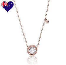 Best Selling 18ct Rose Gold Cubic Zirconia Necklace/Pendant Wedding-Gift jewelry