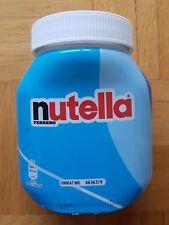Nutella unique Glas Sammelglas leer blau Unikat Nr. 6636379