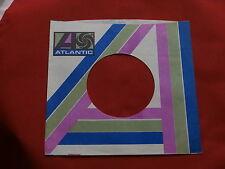 "ATLANTIC~ # 4- ~ ORIGINAL COMPANY SLEEVE ~ 7"" SINGLE 45 RPM"