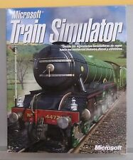 TRAIN SIMULATOR - PC - VERSION ESPAÑA - COMPLETO - 1ª VERSION