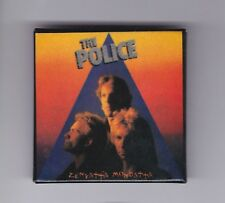 "The Police 1983 Vintage ""Zenyatta Mondatta"" Lp Cover Pin Button"