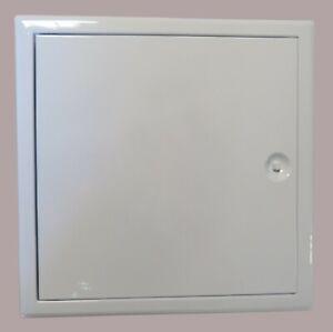 """Trappe de visite Softline 600x600mm blanc """"The Whites Edition"""" serrure batteuse"""