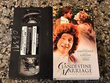 The Clandestine Marriage Vhs Nigel Hawthorne Joan Collins