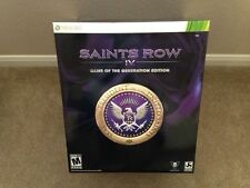 SAINTS ROW 4 IV GAME OF THE GENERATION EDITION (360) Brand New, Factory Sealed!