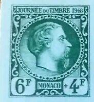 xx non dentele journee du timbre monaco 1948