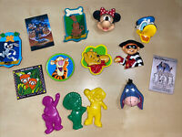 VINTAGE Disney And Others Magnet Lot- Lot Of 14