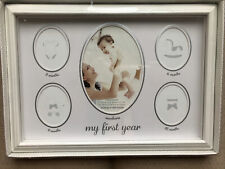 New ListingStepping Stones Baby's 'First Year Picture Frame'! Brand New!