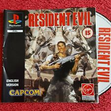 RESIDENT EVIL DISC & INSTRUCTIONS ONLY SONY PLAYTSTATION PS1 PS2 PAL