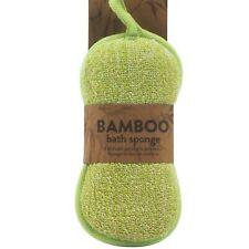 Calidad Suave Piel Exfoliante Bambú Baño Cuidado Lufa Masaje Lavado