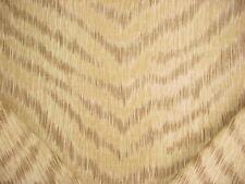 12Y Kravet Portfolio Textiles Suri Sahara Tiger Stripe Linen Upholstery Fabric