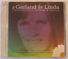 Paul McCartney A Garland for Linda USA Promo Edition of the Full CD Album OOP